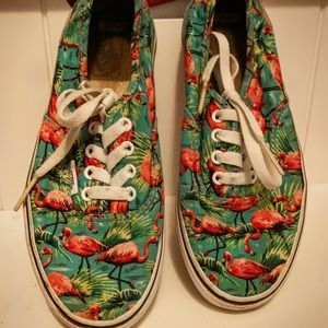Tropical VANS tennis shoes Kids